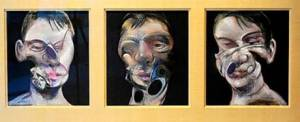 Francis Bacon's triptych Three Studies For A Self-Portrait