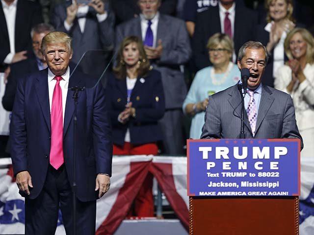 Donald Trump,Nigel Farage
